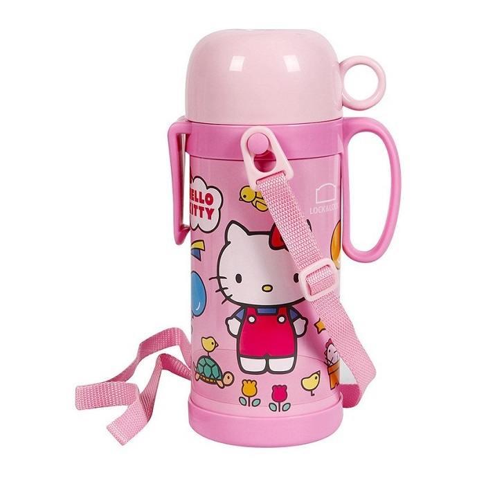 Bình Giữ Nhiệt Hello Kitty Funny Zoo 600ml