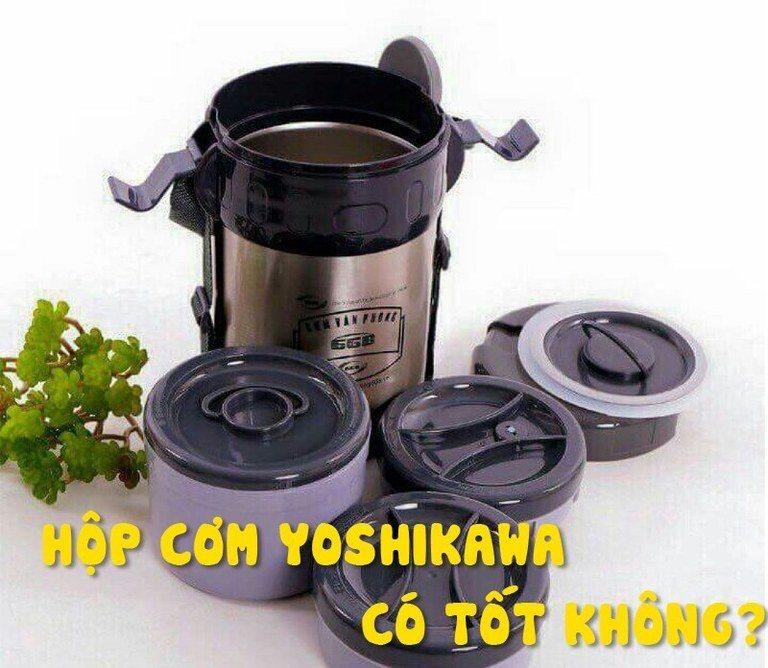 hộp đựng cơm giữ nhiệt yoshikawa