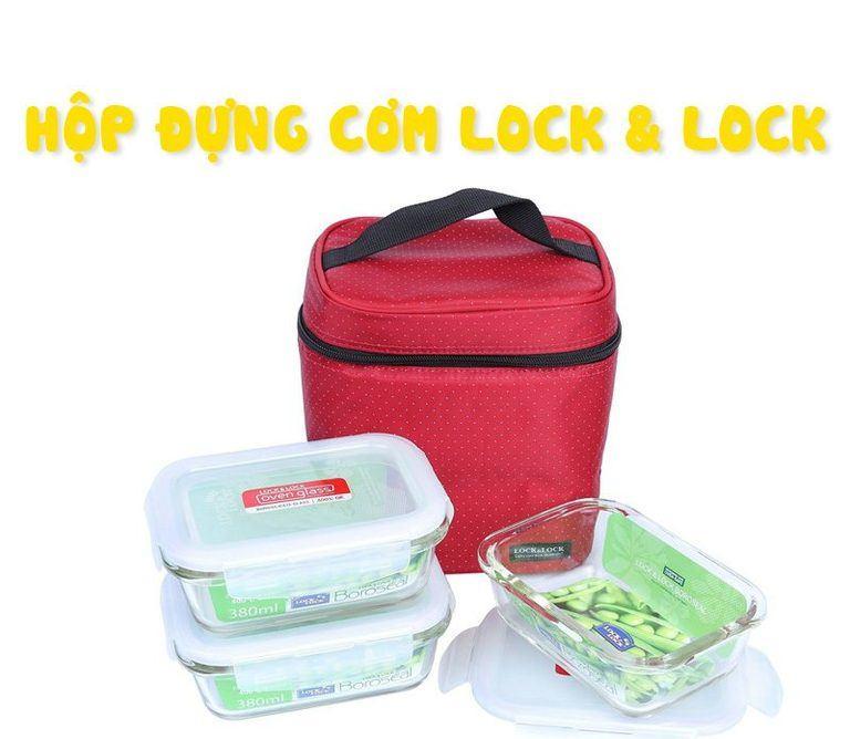 hộp đựng cơm lock & lock