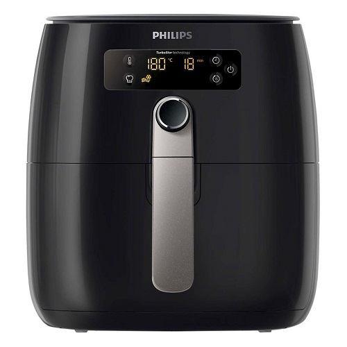 Nồi Chiên Không Dầu Điện Tử Philips HD9643 - Đen (0.8kg)