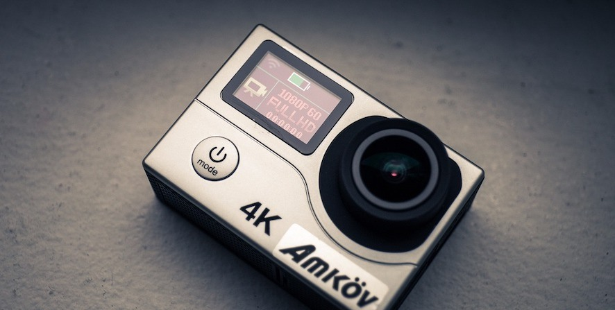 camera AMKOV 8000S WIFI 4K