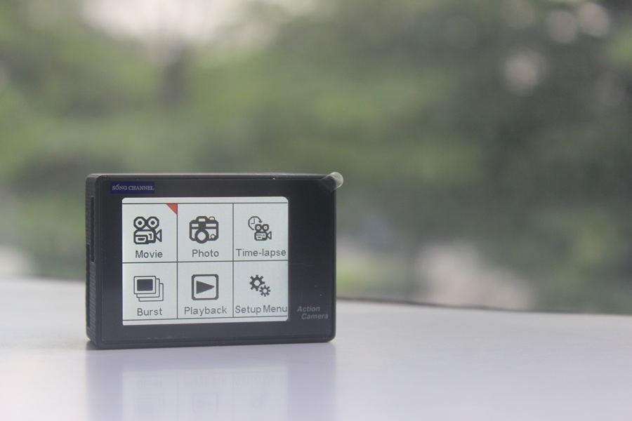 Camera hành trình SC-1 có khả năng quay video được đánh giá cao