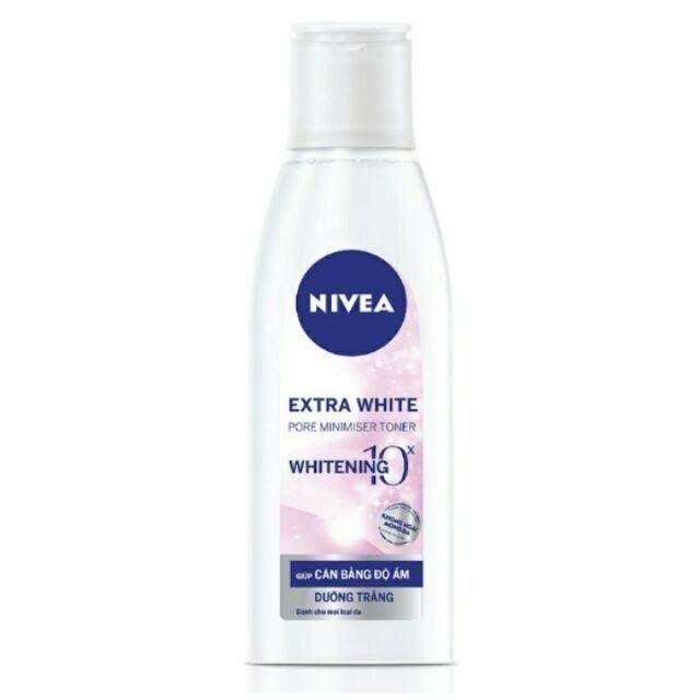 Nước hoa hồng trắng da Nivea Extra WhitePore Minimiser