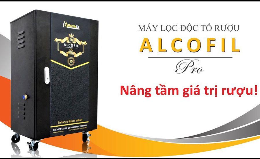 máy lọc rượu Alcofil