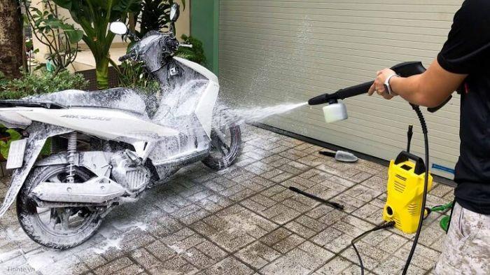 máy rửa xe cho gia đình