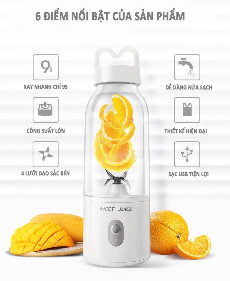 máy ép nước trái cây mini nhỏ gọn