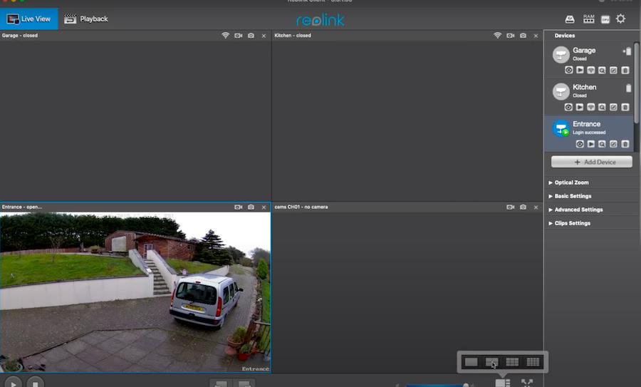 Ứng dụng quan sát camera IP WIFI