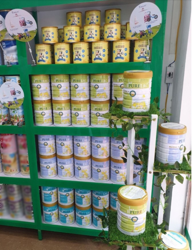 """PureLac là dòng sữa nhập khẩu nguyên hộp từ New Zealand đang """"HOT"""" tại Việt Nam."""