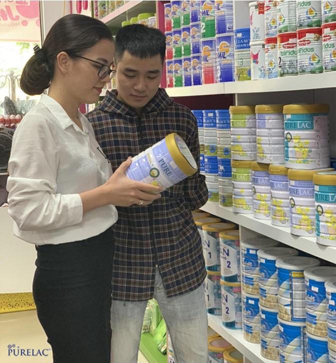Sữa nhập khẩu nguyên hộp