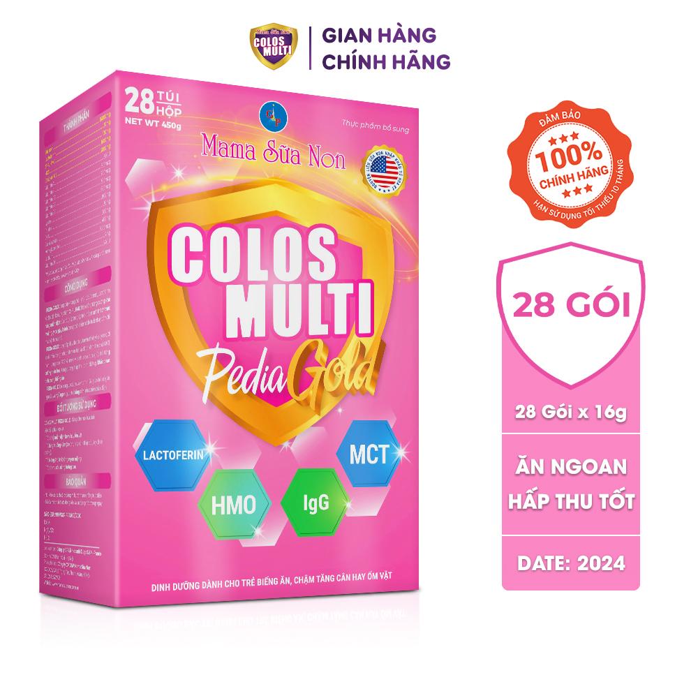 Sữa non Colos Multi Pedia Gold cho trẻ biếng ăn